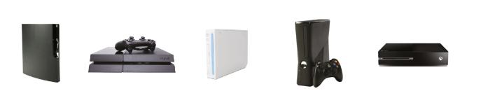 Image console de jeux de salon