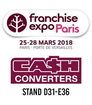 Cash Converters au salon Franchise Expo