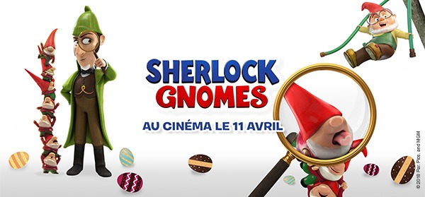 Cash Converters présente Sherlock Gnomes !