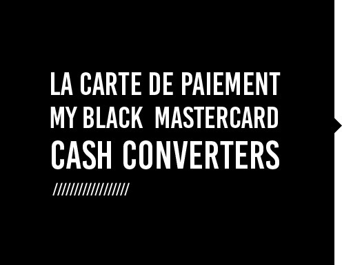 Carte De Paiement Black.Decouvrez La Nouvelle Carte De Paiement My Black Mastercard