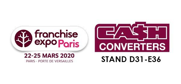 CASH CONVERTERS SERA PRÉSENT AU SALON FRANCHISE EXPO PARIS 2020