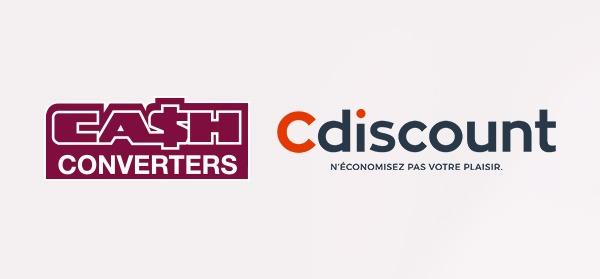 CASH CONVERTERS COLLABORE AVEC CDISCOUNT