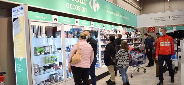 Ouverture d'un deuxième magasin Carrefour Occasion Liévin